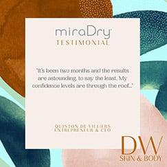 miraDry Testimonial